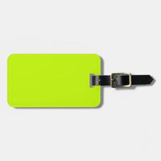 Amarillo de neón de la verde lima fluorescente per