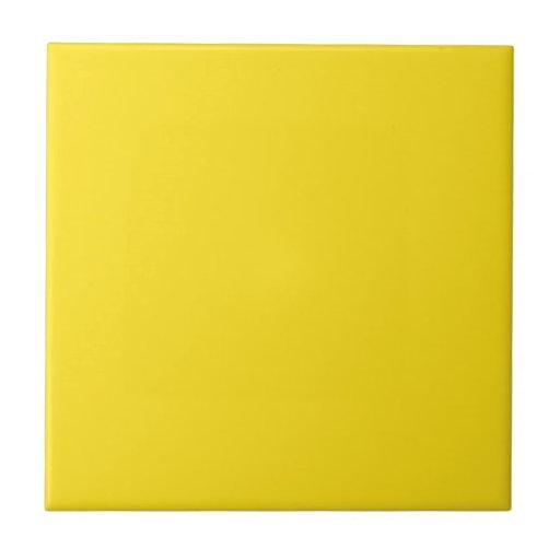 Amarillo de oro azulejo cuadrado pequeño