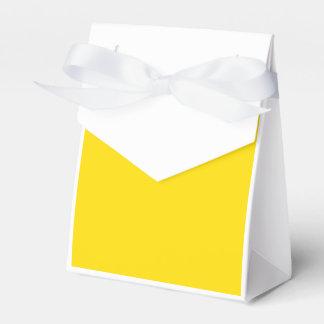 Amarillo de oro cajas para regalos de fiestas