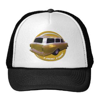 amarillo de oro de la furgoneta larga del tejado d gorro de camionero