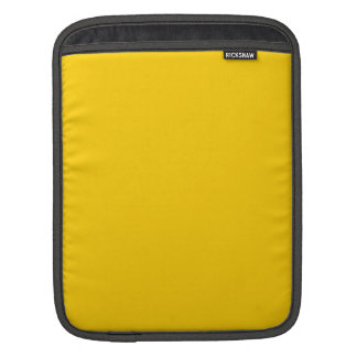 Amarillo de oro mangas de iPad