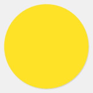 Amarillo de oro etiqueta