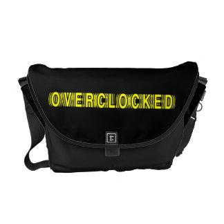 Amarillo de Overclocked Bolsas De Mensajería