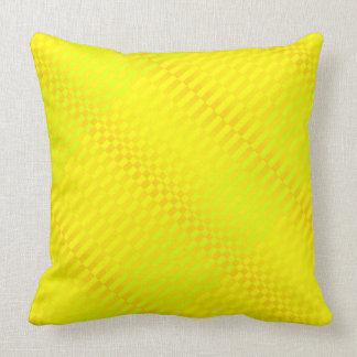 Amarillo de Rigel Cojín Decorativo