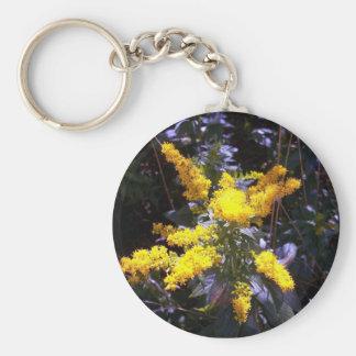 Amarillo de Unmellow Llavero Redondo Tipo Pin