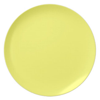 Amarillo de Unmellow Plato De Comida
