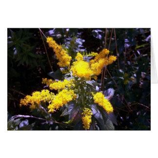 Amarillo de Unmellow Tarjeta De Felicitación