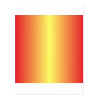 Amarillo de Unmellow y rojo del cadmio Tarjeta Postal