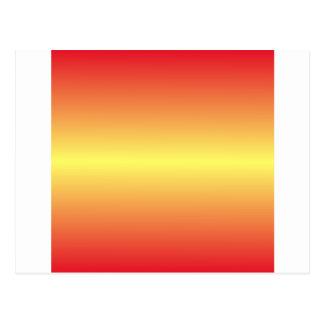 Amarillo de Unmellow y rojo horizontales del Tarjetas Postales