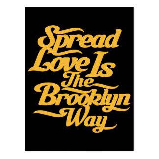Amarillo del amor de Brooklyn Postal
