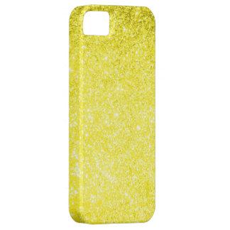 Amarillo del brillo iPhone 5 carcasa