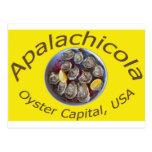 Amarillo del capital de la ostra de Apalachicola Tarjeta Postal