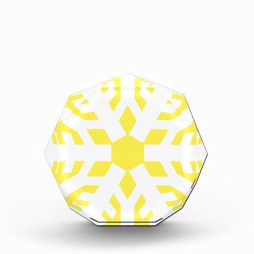 Amarillo del copo de nieve 9