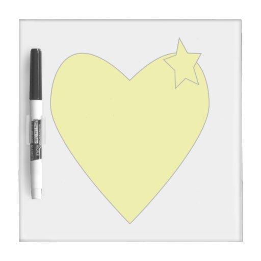 amarillo del corazón con star.png amarillo pizarra blanca