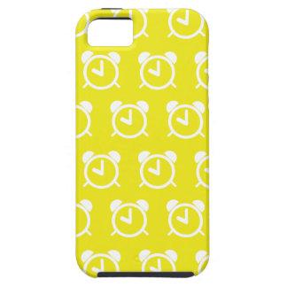 Amarillo del despertador funda para iPhone 5 tough