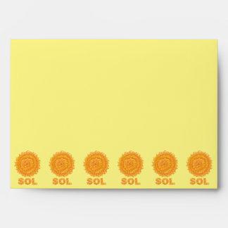 Amarillo del friki del espacio del solenoide The Sobre
