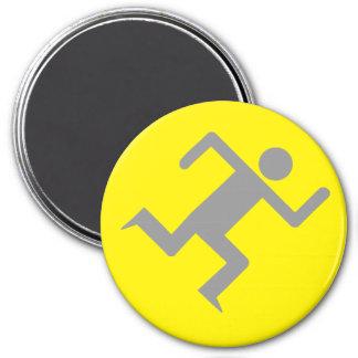 Amarillo del imán del RM