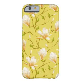 Amarillo del jardín de flores el | de la primavera funda para iPhone 6 barely there