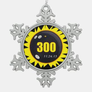 Amarillo del juego perfecto 300 adorno
