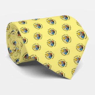 Amarillo del lazo de SMI_SMI Corbata Personalizada
