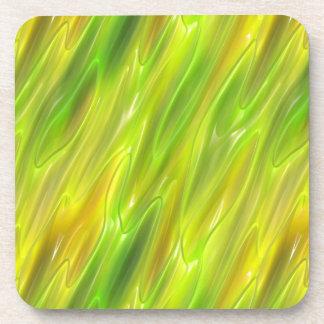 Amarillo del líquido posavaso
