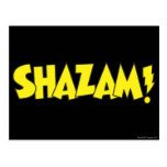 Amarillo del logotipo de Shazam Postal