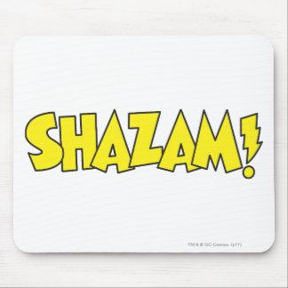 Amarillo del logotipo de Shazam Tapete De Ratón