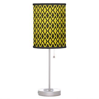 Amarillo del modelo 2 de Argyle Lámpara De Escritorio