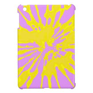 Amarillo del modelo del chapoteo y diseño abstract