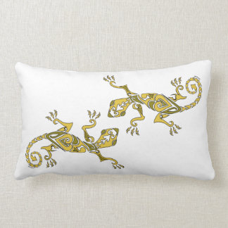 Amarillo del modelo del tatuaje/de la alheña del l almohadas