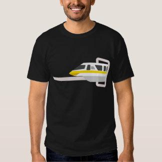 Amarillo del monorrail remera
