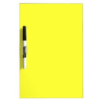 Amarillo del narciso pizarra blanca