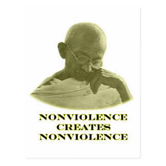 Amarillo del Nonviolence los regalos de Zazzle del Postal