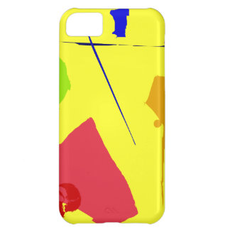 Amarillo del número uno funda para iPhone 5C