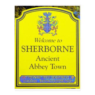 amarillo del sherborne postal