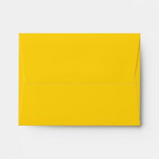 Amarillo del sobre A2