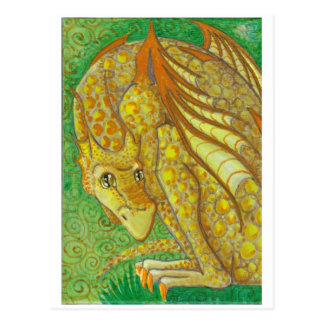 Amarillo Dragon postcard