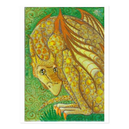 Amarillo Dragon postcard