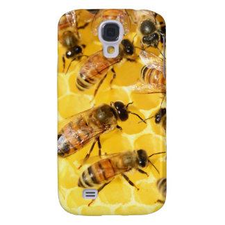Amarillo dulce del postre del peine de la miel de  funda para galaxy s4