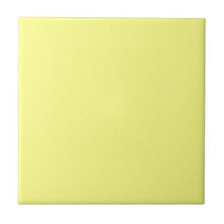 Amarillo elegante - tendencias del color de la mod azulejo cuadrado pequeño