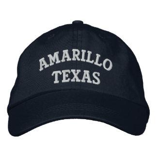 Amarillo Embroidered Baseball Cap