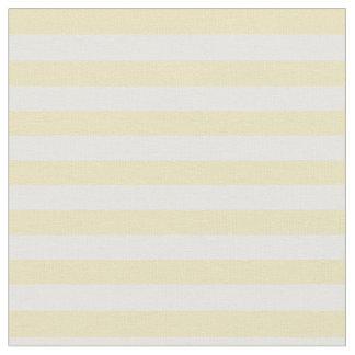 Amarillo en colores pastel y blanco rayados telas