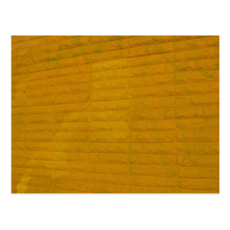 amarillo en la ciudad postal