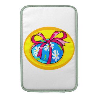 amarillo envuelto oval png del huevo de Pascua de Funda MacBook