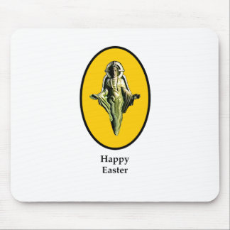 Amarillo feliz de Cantorbery de la imagen de Pascu Alfombrilla De Ratones