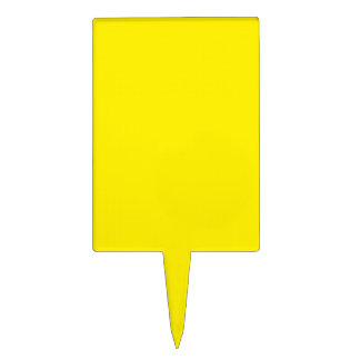 Amarillo Figuras Para Tartas