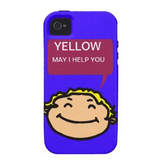 AMARILLO Case-Mate iPhone 4 FUNDAS