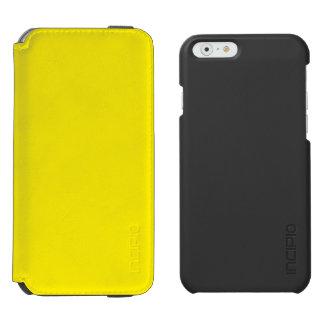 Amarillo Funda Billetera Para iPhone 6 Watson