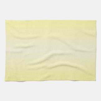 Amarillo horizontal 2 - amarillo de la vainilla y  toallas de cocina