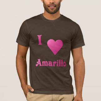 Amarillo -- Hot Pink T-Shirt